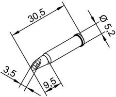 Tip Ersadur 3,5mm concave port