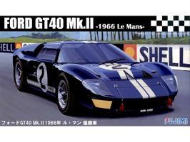 Ford GT40 Mk-II `66 LeMans Winner