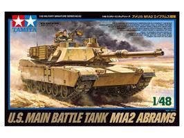 U.S. Main Battle Tank M1A2 Abrams