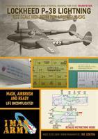 1/32 Mask for P38 L Lightning