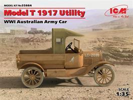 Model T 1917 Utility WWI Australian Army Car