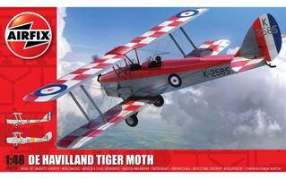 de Havilland D.H.82a Tiger Moth. Inkl Vingtor