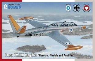 Fouga CM.170 Magister German, Finnish and Austrian
