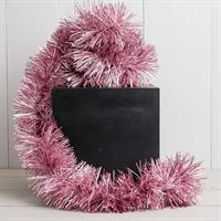 Glitter matt rosa, 9 cm x 2 m