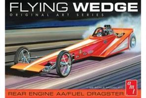 Flying Wedge Dragster Original Art Series