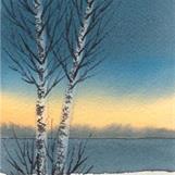 Vinterlys II - Åse Juul