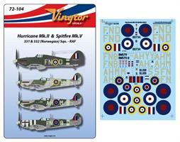 Hurricane MK.II & Spitfire Mk.V