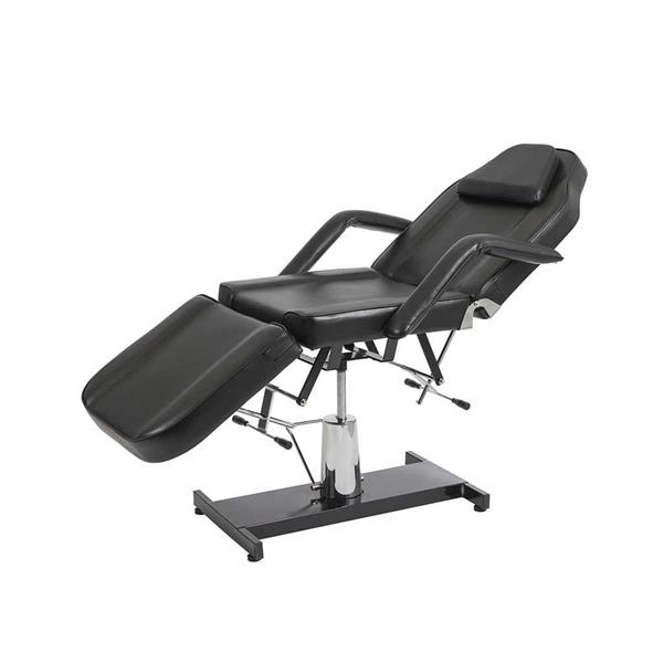 Manuell spa / massagebänk 02 svart