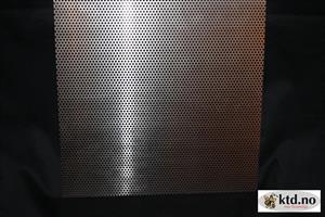Aluminiumsplate, 330x330mm