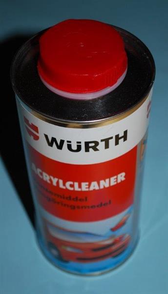 Wurtz acrylcleaner 750ml