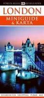 London - miniguide, karta