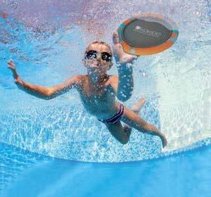Frisbee Badleksak