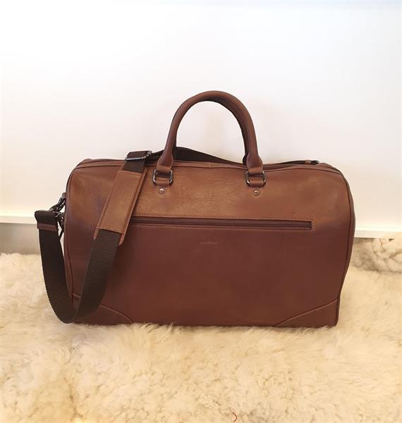 Bozzini weekendbag brun