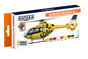 Air Ambulance (HEMS) paint set vol. 1