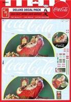 Vintage Coca-Cola Santa Clause Big Rig Graphics