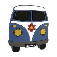 Knopp hippiebuss, gummi