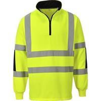 Sweatshirt  zip 308 varsel PW