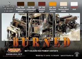 Burned Matt Colours high pigment