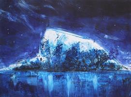 Svein Erik Larsen-Louund i blått II