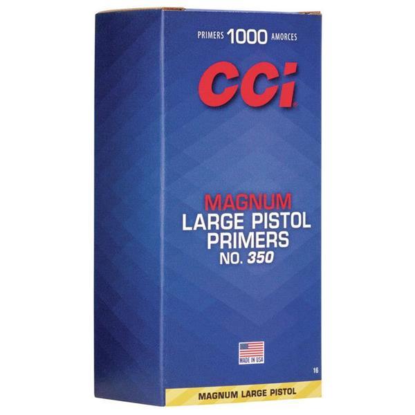 TÄNDHATT CCI 350 MAGNUM LARGE PISTOL (100)
