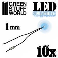 Cool White LED Lights - 1mm