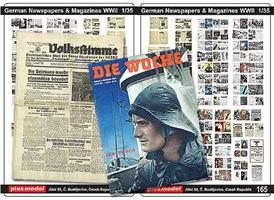 German Newspaper & Magazines WWII