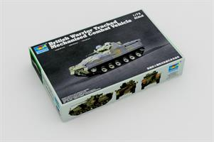 British Warrior Tracked Mechanised Combat Vehicle