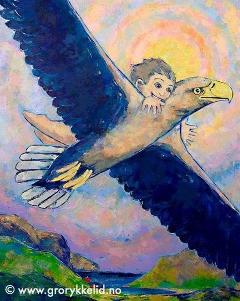 Himmelsk perspektiv, Orginalmaleri