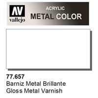 VALLEJO METAL COLOR 77.657 : Gloss metal varnish