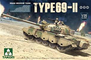 Iraqi Medium Tank Type 69-II 2 in 1