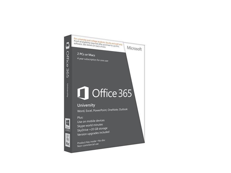 MS OFFICE 365 UNIVERSITY 4ÅR