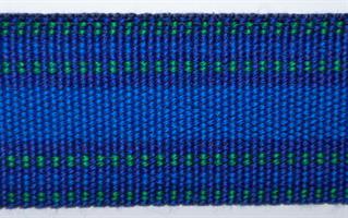 Herrebånd - Blå, grønn og blå