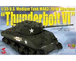 U.S. Medium Tank M4A3 (76) W Sherman `Thunderbolt