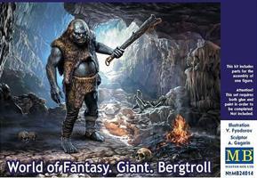 World of Fantasy Giant Bergtroll