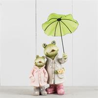 Grodor med paraply, poly