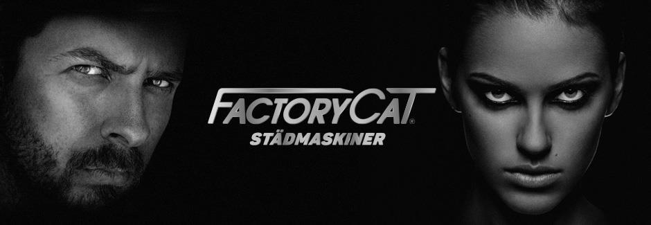 Factory Cat städmaskiner