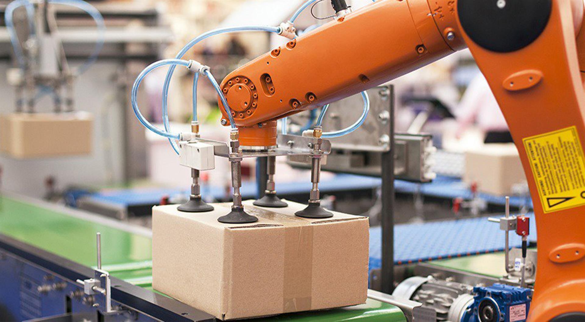 tyhjiögeneraattori pakkausteollisuudelle