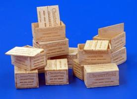 U.S. Wooden crates for cigaretes WWII type II