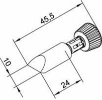 Tip Ersadur 10mm Chisel shape