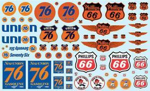Phillips 66 & Union 76 Trucking Decal Set