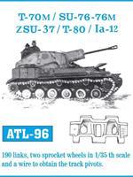 T-70M / SU-76 - 76M / ZSU-37 / T-80 / Ia-12