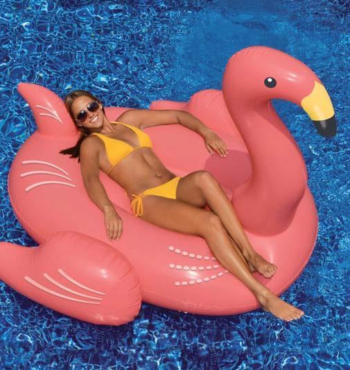 Flamingo Rosa flytleksak
