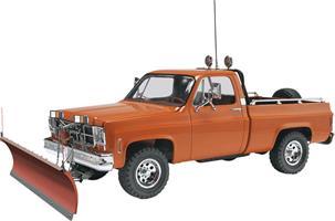 GMC® Pickup w/ Snow Plow