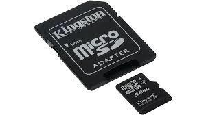 SD-MINNE MICRO HC, 32 GB, KINGSTON