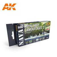 ROYAL NAVY CAMOUFLAGES 2 – NAVAL SERIES SET