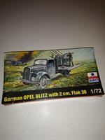 German Opel Blitz with 2 cm. Flak 38