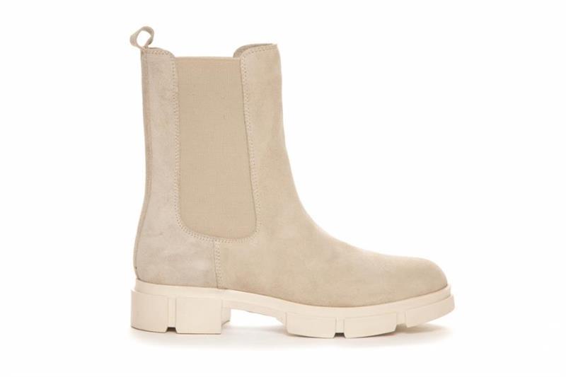 Duffy Höga Boots Skinn offwhite