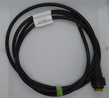 Kabel 5 pol gul, öppen ände 2,0 m Vä