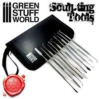 10x Professional Sculpting Tools - Carvers