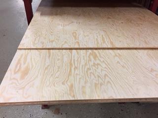 Furu Plywood 12mm B/BB 820x1250mm